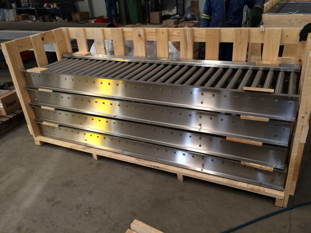 crate conveyor systems