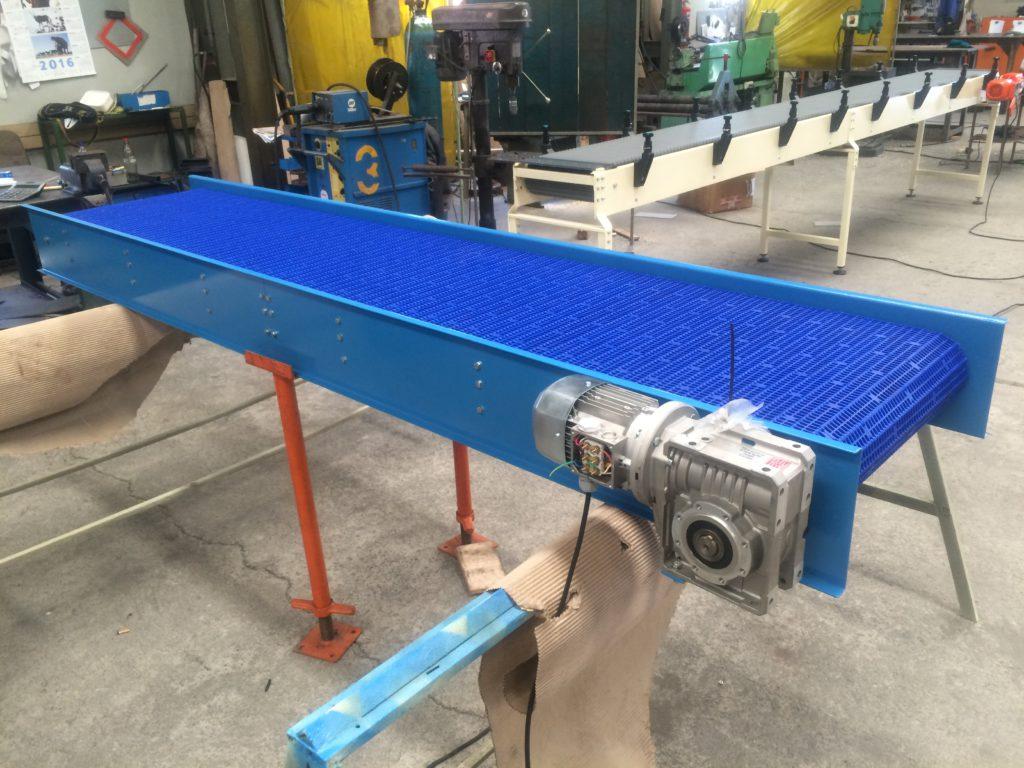 plastic modular conveyor manufacturers
